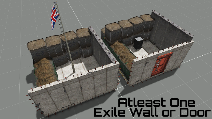 1 Exile Door or Wall